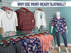 Why Use Paint-Ready Slatwall?