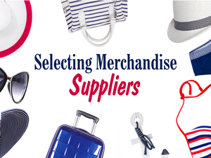 Selecting Merchandise Supplies