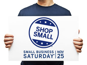 Small Business Saturday - Official Corporate Supporter