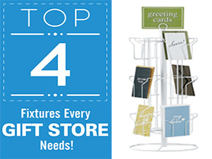 Top 4 Fixtures Every Gift Store Needs