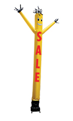 "Inflatable Dancing Man - Yellow ""Sale"""