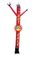 "Inflatable Dancing Man - Red ""Hot Sale"""