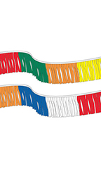 Multi-Colored Fiesta Pennant