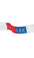 Red/Blue/White Fiesta Pennant