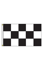 Horizontal Black/White Checkered Flag