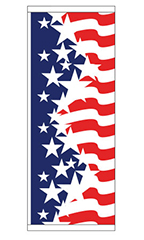Patriotic Theme Flag - Stars & Stripes Dynamic