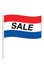 """Sale"" Cloth Antenna Pennant"