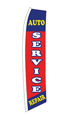 "Wave Flag - ""Auto Service Repair"""