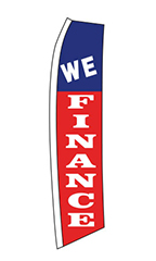 "Wave Flag - ""We Finance"""