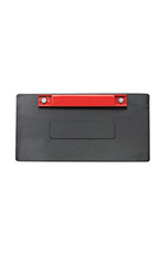 Rubber/Magnetic License Plate Holder Combo