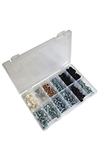 279 Piece Metric & Standard Screw Assortment