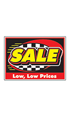 "Curb Display Sign - ""Sale"""