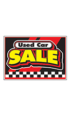 "Curb Display Sign - ""Used Car Sale"""