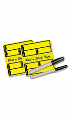 Yellow Poly Stock Stickers