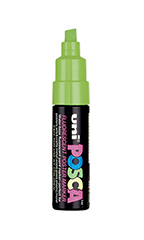 Fluorescent Yellow Water Based Paint Marker with ¼ inch tip