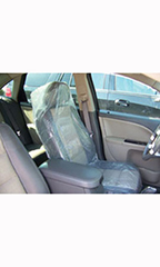 Clear Premium Plastic Car Seat Cover