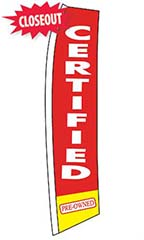 "Wave Flag - ""Certified Pre-Owned"""