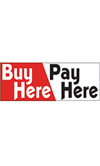 Buy Here Pay Here Economy Banner