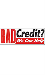 Bad Credit- We can Help Economy Banner