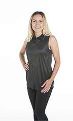 Alexis Grooming Vest - StretchFit Black -  XS