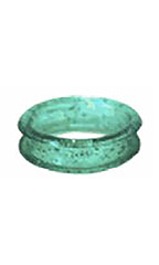 Chris Christensen Finger Rings-22mm Aqua Sparkle