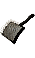Chris Christensen Groomer's Miracle Slicker Brushes - Large - Black