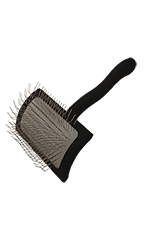 Chris Christensen Groomer's Miracle Slicker Brushes -Medium - Black