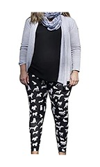 CPC Dog Pattern Leggings - Small