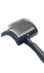 "Medium Regular Slicker Brush Pin Pad 3 1/2"" x 2"""
