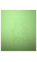 "PawMat Anti-Fatigue Grooming Mat (16"" x 27"") -  Lime Green"
