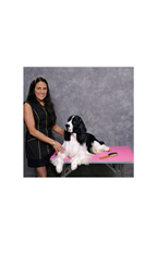 "PawMat Anti-Fatigue Grooming Mat (24"" x 48"") - Pretty in Pink"