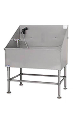 PetLift Classic LE Stainless-Steel Tub - Left Side Plumbing 48""