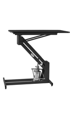PetLift MasterLift Hydraulic Grooming Table - Black