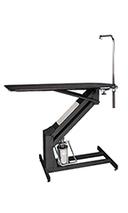 PetLift MasterLift Hydraulic Grooming Table with Rotating Post - Black