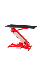 PetLift MasterLift Low Rider Electric Grooming Table - Red