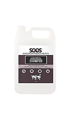 SOOS Natural Dead Sea Extra Strength Mineral Rich Pet Shampoo (4L / 1.32 gal)