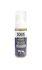 SOOS Natural Dead Sea Hypoallergenic Waterless Pet Bath Mousse
