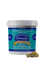 Stewart Pro Liver Freeze Dried Treats 21 oz.