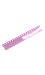 Utsumi Stainless Cat Comb 5 inch PINK