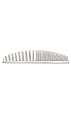 Utsumi Stainless Curved Comb Half Moon