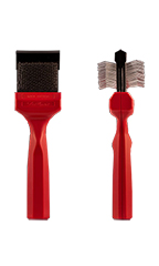 Les Poochs Mat Zapper/Emergency Brush (Red Color) - Matte Brush