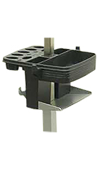 Table Works Groomer's Tool Caddy 3/4 - Black