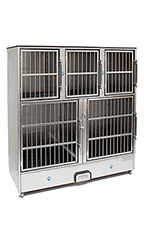 Groomer's Best 5 Unit Cage Bank