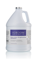 iGroom True Color Brightening Shampoo 1 gal