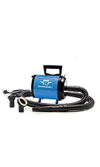 Metro Air Force Commander 2 Speed Dryer 4.0 HP - Blue
