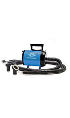Metro Air Force Commander Variable Speed Dryer 1.7 HP - Blue