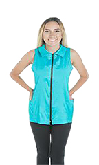 Alexis Grooming Vest - StretchFit Turquoise - XS
