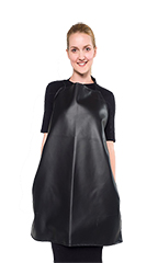 Audrey Reversible Bathing Apron - Solid Black