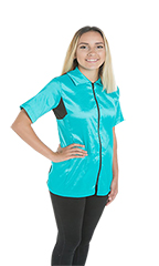 Camilla Grooming Jacket - StretchFit Turquoise - XS