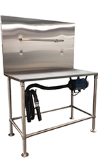 PetLift SS Drying Station - With Dryer